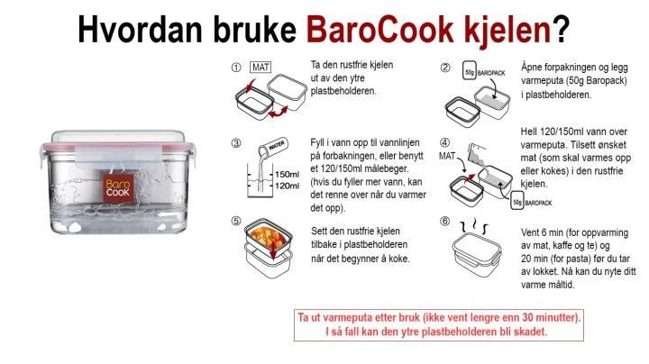 Hvordan bruke BaroCook kjelen?